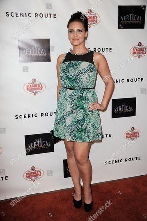 "Editorial image of LA Premiere of ""Scenic Route"" - Arrivals, Los Angeles, USA"