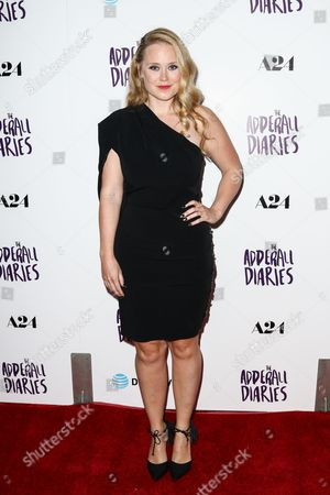 "Pamela Romanowsky attends the LA Premiere of ""The Adderall Diaries"" held at ArcLight Hollywood, in Los Angeles"
