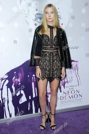 "Editorial photo of LA Premiere of ""The Neon Demon"" - Arrivals, Los Angeles, USA"