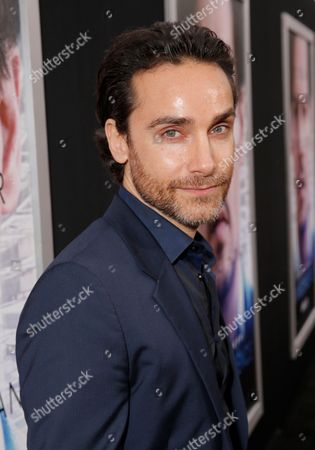 "Stock Picture of Antonio Del Prete arrives at the Los Angeles premiere of ""Transcendence"" at the Westwood Regency Village Theater on"
