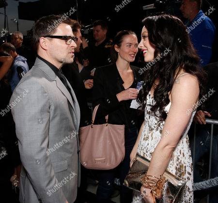 """Kavan Smith and Leah Gibson arrive at the LA premiere of """"Rogue"""" at the ArcLight Hollywood on in Los Angeles"""