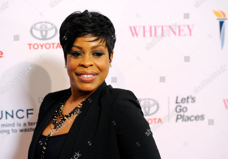 """Niecy Nash Actress Niece Nash poses at the premiere of the film """"Whitney"""", in Beverly Hills, Calif"""