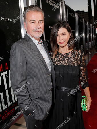 """Ian Buchanan and Finola Hughes attend the special screening of """"Captain Phillips"""" at The Academy of Motion Picture Arts and Sciences on in Beverly Hills, Calif"""