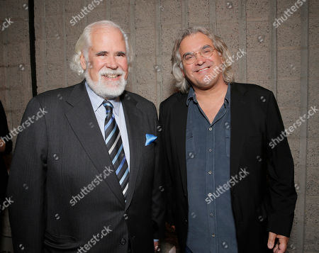"""Vice Chairman of Sony Pictures Entertainment Jeff Blake (L) and director Paul Greengrass attend the special screening of """"Captain Phillips"""" at The Academy of Motion Picture Arts and Sciences on in Beverly Hills, Calif"""