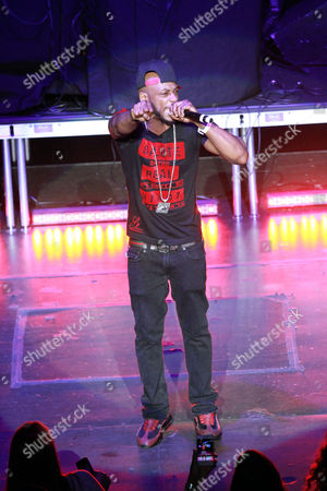 Stock Photo of Michael Lawrence Tyler Mystikal performs during the Legends of Southern Hip Hop Tour at the Fox Theatre, in Atlanta