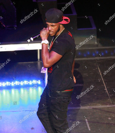 Mystikal performs during the Legends of Southern Hip Hop Tour at the Fox Theatre, in Atlanta
