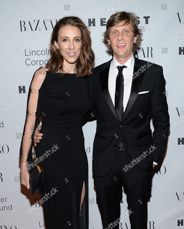"""Alexandra Kerry and husband Julien Dobbs-Higginson attend """"An Evening Honoring Valentino"""" gala, hosted by the Lincoln Center Corporate Fund, at Alice Tully Hall, in New York"""