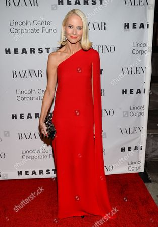 """Louise Camuto attends """"An Evening Honoring Valentino"""" gala, hosted by the Lincoln Center Corporate Fund, at Alice Tully Hall, in New York"""