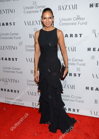 """Susan Fales-Hill attends """"An Evening Honoring Valentino"""" gala, hosted by the Lincoln Center Corporate Fund, at Alice Tully Hall, in New York"""