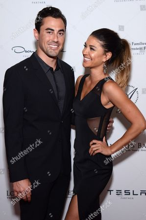 Stock Picture of Scotty McKnight and Jessica Szohr arrive at the Los Angeles Ballet Gala - Arrivals held at the Beverly Wilshire Hotel, in Beverly Hills, California