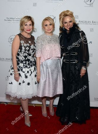 Jeanette Trepp, Ghada Irani and Dina Leeds arrive at the Los Angeles Ballet Gala - Arrivals held at the Beverly Wilshire Hotel, in Beverly Hills, California