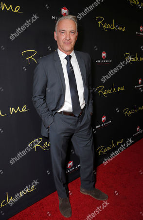 "Christoph M. Ohrt attends the Los Angeles Premiere of Millenium Entertainment's ""Reach Me"" at Chinese 6 Theaters on in Los Angeles"