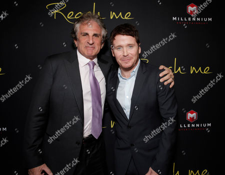 """Director John Herzfeld and Kevin Connolly attend the Los Angeles Premiere of Millenium Entertainment's """"Reach Me"""" at Chinese 6 Theaters on in Los Angeles"""