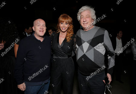 """Producer Cassian Elwes, Director John Herzfeld and Producer Rebekah Chaney attend the Los Angeles Premiere of Millenium Entertainment's """"Reach Me"""" at Chinese 6 Theaters on in Los Angeles"""