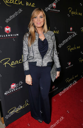 """Sandra Vidal attends the Los Angeles Premiere of Millenium Entertainment's """"Reach Me"""" at Chinese 6 Theaters on in Los Angeles"""
