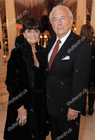 Faye Mancuso and Frank Mancuso attend the LOUIS XIII and Audi Chairman's Circle Dinner for the Geffen Playhouse on at a private residence in Los Angeles