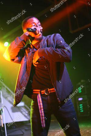 GoldLink performs during concert at Marathon Music Works on in Nashville, Tenn