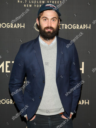 Chris Tomson attends the opening night of the Metrograph movie theater, in New York