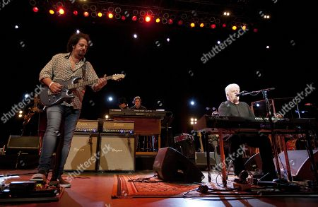 Steve Lukather, David Paich and Michael McDonald performed as part of the Michael McDonald and Toto co-headlining tour at the Fox Theatre, in Atlanta, Ga