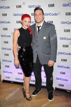 "Chris DiStefano and Carly Aquilino appear at the MTV ""Girl Code"" party to celebrate the launch of the ""GYT""- Get Yourself Tested- campaign on at Malt N Mash in New York City"