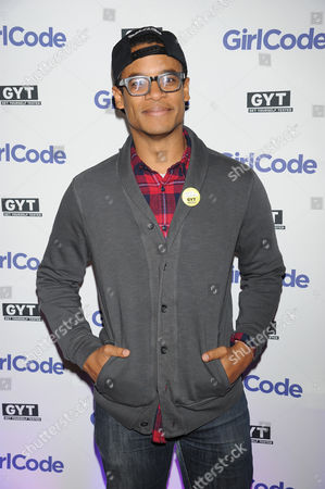 """Jordan Carlos appears at the MTV """"Girl Code"""" party to celebrate the launch of the """"GYT""""- Get Yourself Tested- campaign on at Malt N Mash in New York City"""