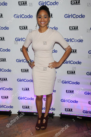 "Tanisha Long appears at the MTV ""Girl Code"" party to celebrate the launch of the ""GYT""- Get Yourself Tested- campaign on at Malt N Mash in New York City"