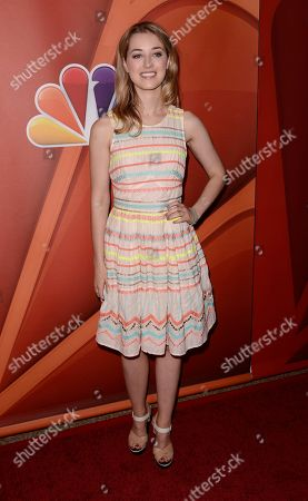 Actress Ella Rae Peck arrives at the NBC 2013 summer press tour at the Beverly Hilton Hotel on in Beverly Hills, Calif