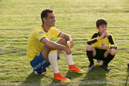 In this photo distributed, Rafa Márquez partners with Nestle Nesquik for a day of soccer play in Guadalajara, Mexico. Local children played alongside Rafa, who inspired one child to fulfill his epic dream of becoming a goalie. All enjoyed low fat chocolate milk, which contains the ideal 3:1 ratio of carbohydrates to protein that can help restore tired muscles, making Nesquik an optimal postgame beverage choice. The annual Nesquik soccer program provides parents with postgame nutrition tips to help their kids replenish what is lost in sweat after intense practices and games. Watch Rafa surprise and delight here: https://youtu.be/VKZJEYEeHR8
