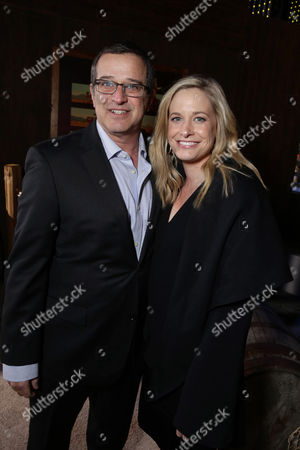 Allen Covert and Kathryn Covert seen at Netflix Premiere of 'The Ridiculous 6' at Universal City Walk AMC, in Universal City, CA