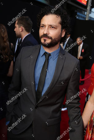 """Michael Ray Escamilla seen at the New Line Cinema and Metro-Goldwyn-Mayer Premiere of """"Hot Pursuit"""", in Los Angeles"""