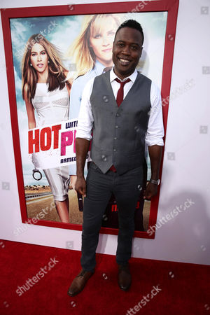 """Kevin Daniels seen at the New Line Cinema and Metro-Goldwyn-Mayer Premiere of """"Hot Pursuit"""", in Los Angeles"""