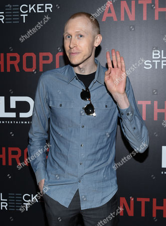 """Stock Image of Jason Mann attends the premiere of """"Anthropoid"""" at AMC Loews Lincoln Square, in New York"""