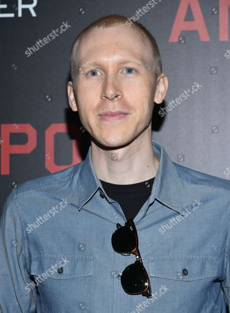 """Stock Photo of Jason Mann attends the premiere of """"Anthropoid"""" at AMC Loews Lincoln Square, in New York"""