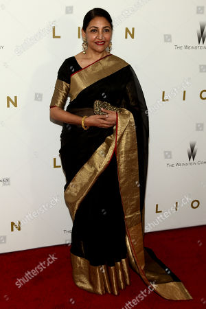 "Stock Photo of Deepti Naval attends the premiere of ""Lion"" at the Museum of Modern Art, in New York"