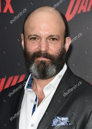 "Geoffrey Cantor attends the premiere of Netflix's Original Series Marvel's ""Daredevil"" Season 2 at AMC Lincoln Square, in New York"