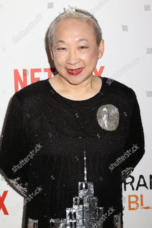 "Lori Tan Chinn attends a premiere event celebrating season four of Netflix's ""Orange Is the New Black"", at the SVA Theatre, in New York"