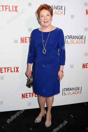 "Beth Fowler attends a premiere event celebrating season four of Netflix's ""Orange Is the New Black"", at the SVA Theatre, in New York"