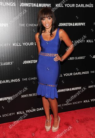"""Actress Sarah Hollis attends a special screening of Sony Pictures Classics' """"Kill Your Darlings"""" hosted by The Cinema Society and Johnston & Murphy at the Paris Theatre on in New York"""
