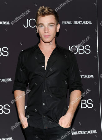 """Stock Picture of Nick Gruber attends a special screening of """"JOBS"""" hosted by The Wall Street Journal at the Museum of Modern Art on in New York"""