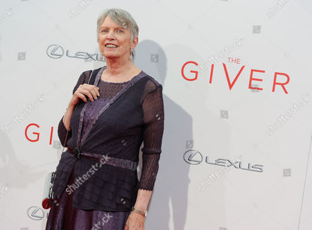 "Stock Picture of Author Lois Lowry attends the world premiere of ""The Giver"" at the Ziegfeld Theatre, in New York"