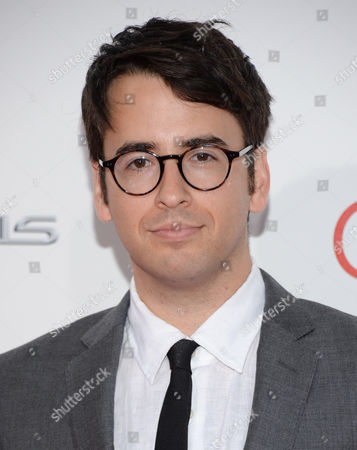 """Writer Michael Mitnick attends the world premiere of """"The Giver"""" at the Ziegfeld Theatre, in New York"""