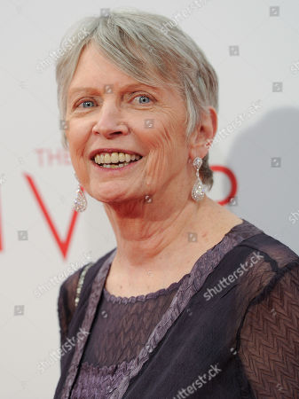 "Stock Photo of Author Lois Lowry attends the world premiere of ""The Giver"" at the Ziegfeld Theatre, in New York"