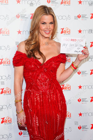 Mary Alice Stephenson attends the Macy's Red Dress Event at Skylight at Moynihan Station, in New York