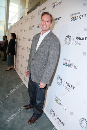 Executive Producer Scott Buck seen at PaleyFest Previews: Fall Farewell with Dexter, on Thursday, Sep, 12, 2013 in Beverly Hills, Calif