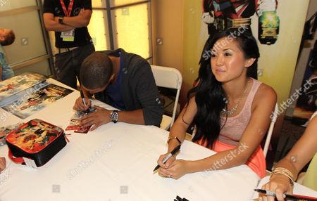Editorial image of Power Rangers Power Morphicon Convention 2012, Pasadena, USA