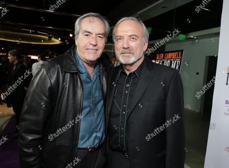 Powers Boothe Producer/Director James Keach seen at Los Angeles Premiere of 'Glen Campbell: I'll be Me', in Los Angeles, CA
