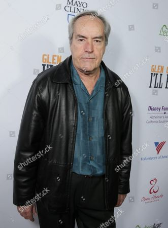 Powers Boothe seen at Los Angeles Premiere of 'Glen Campbell: I'll be Me', in Los Angeles, CA