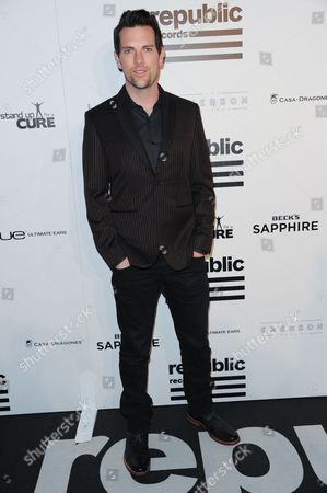Chris Mann arrives at Republic Records Post Grammy Party at The Emerson Theatre on in Los Angeles