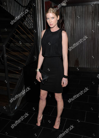 """Actor Emma Booth attends the """"Parker"""" screening party at Marquee hosted by The Cinema Society on in New York"""