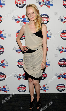 """Actress Erin Wilhelmi attends a special screening of """"The Campaign"""" at the Sunshine Landmark Theatre on in New York"""